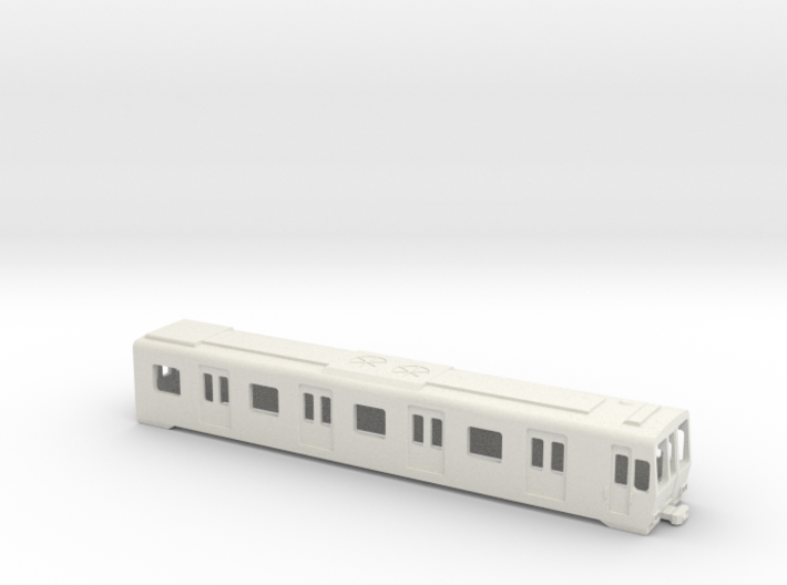Carcasa S5000 Metro Madrid Underground AC 1:160 3d printed