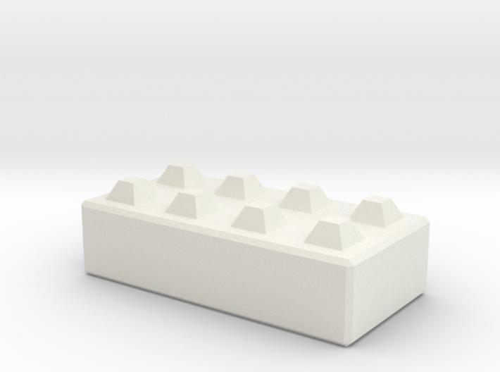 N160 Mega Block 1:50 3d printed