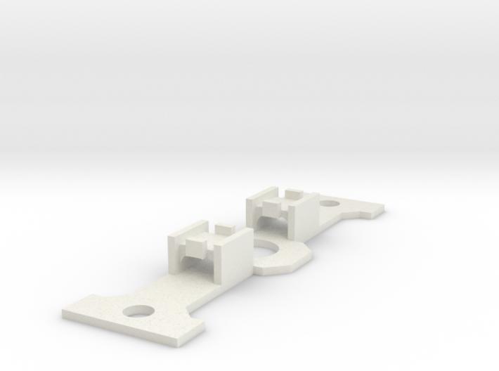 PP/7C SK-5x5FlatSwitchHolder 3d printed