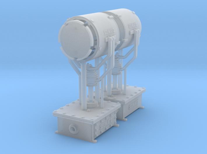 Seematz EFS 351 searchlight - 1:50 - 2X 3d printed