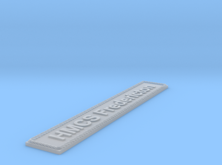 Nameplate HMCS Fredericton 3d printed