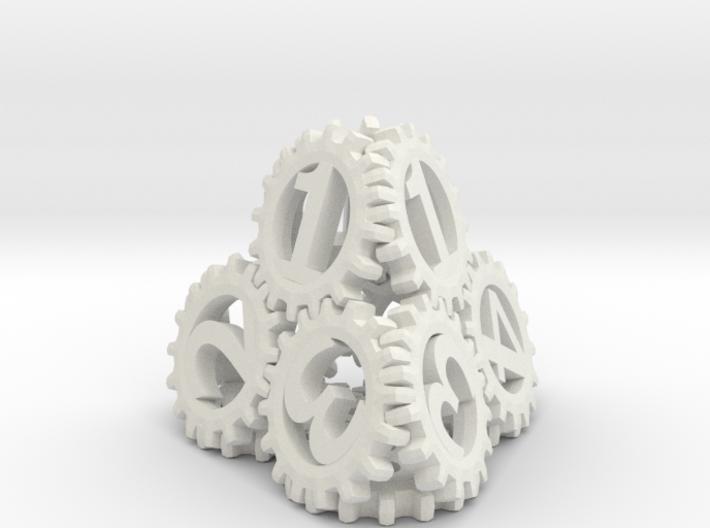 Static Gear Die (D4) 3d printed