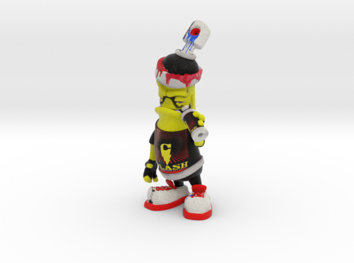 Clash0 SprayCan 3d printed