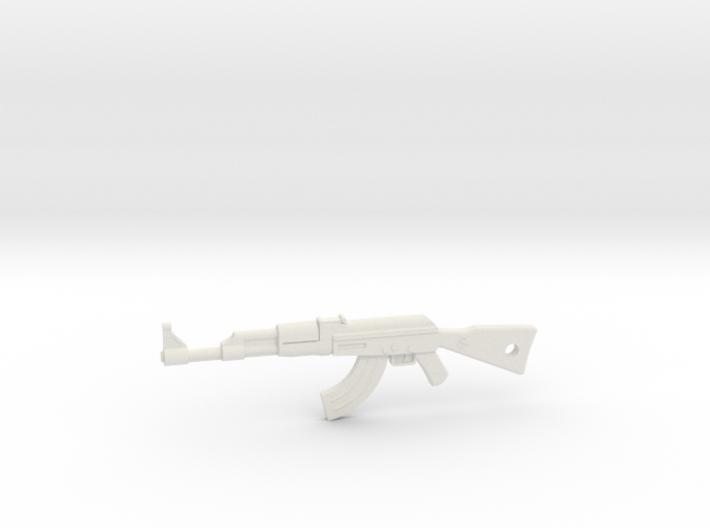AK-47 Pendant 3d printed