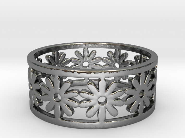 35 Daisy V5 Ring Size 7.5 3d printed