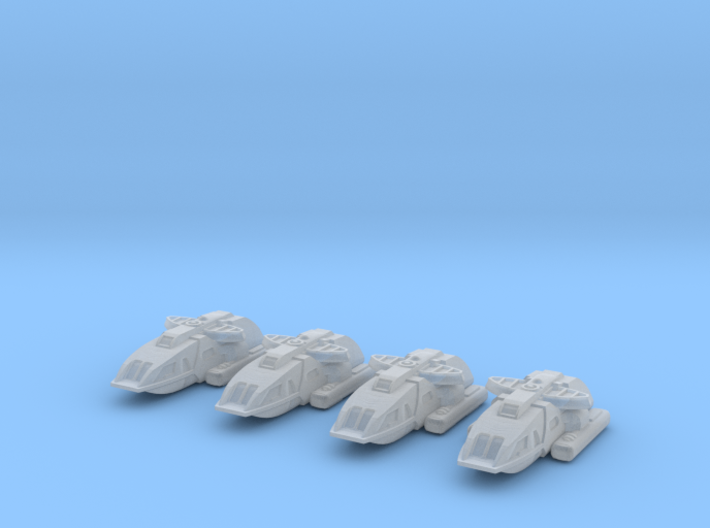 1/1000 Scale Special Operations Scampers 3d printed