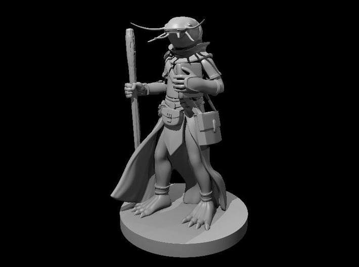 Fishfolk Cleric 3d printed