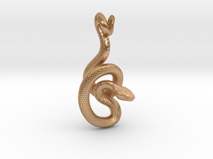 Snake Pendant_P06 3d printed