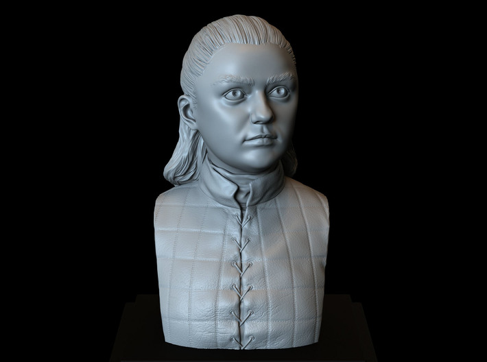 Arya Stark from Game of Thrones 3d printed