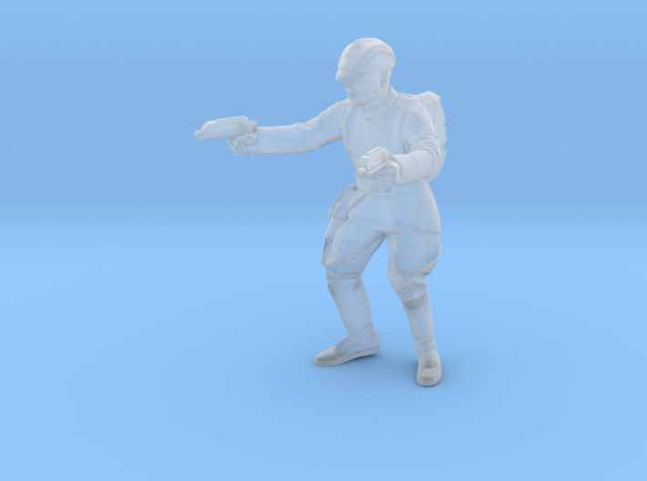 Clone Officer 2 ready for war Legion Scale 3d printed