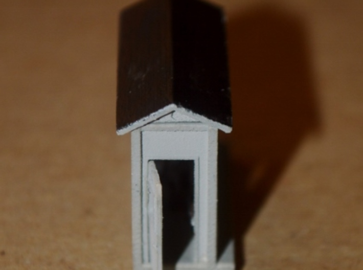 N-Scale Scale Shack 3d printed Painted Production Sample - Door End