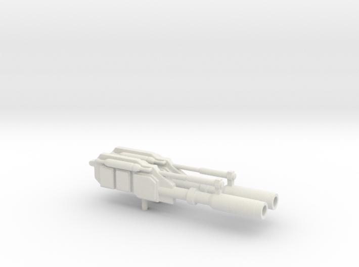 Classics Optimus Prime Powermaster Wapens 3d printed