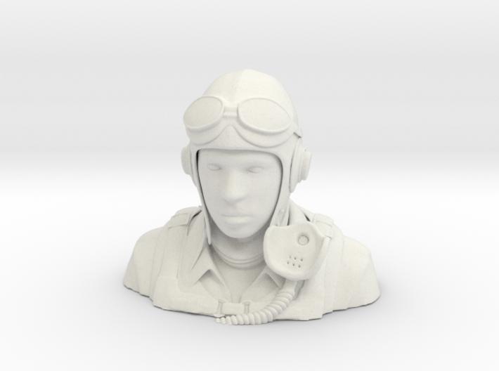 Warbird Pilot Figure 1/6 3d printed