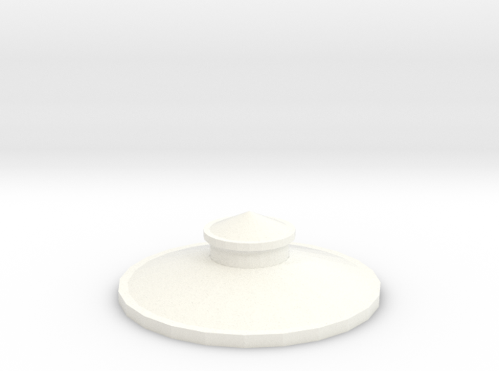 Z Scale Roof for Water Tank Tower FS Railways 3d printed