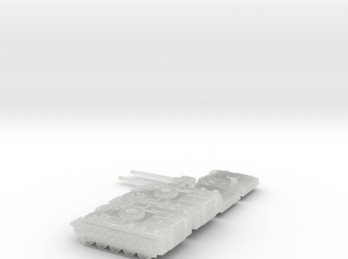 TRO3063 - Werefox Martel 3d printed