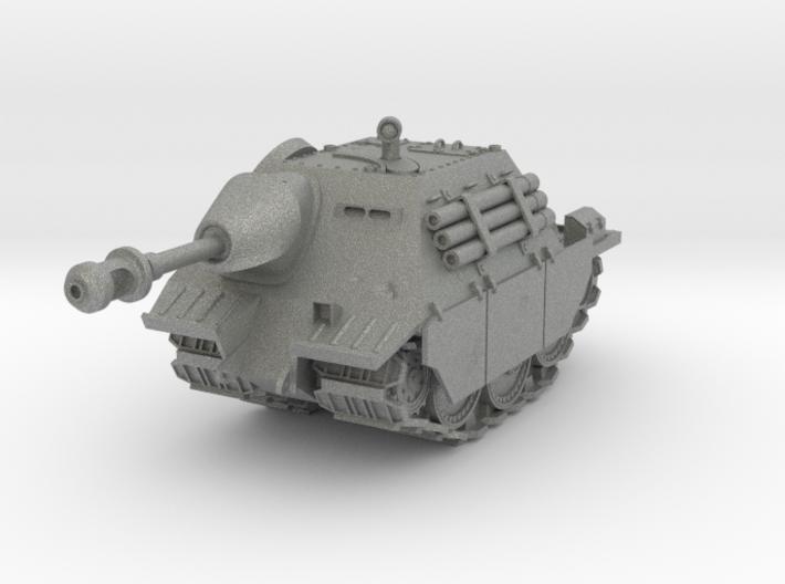 Cartoon Hetzer World War Two Tank 3d printed