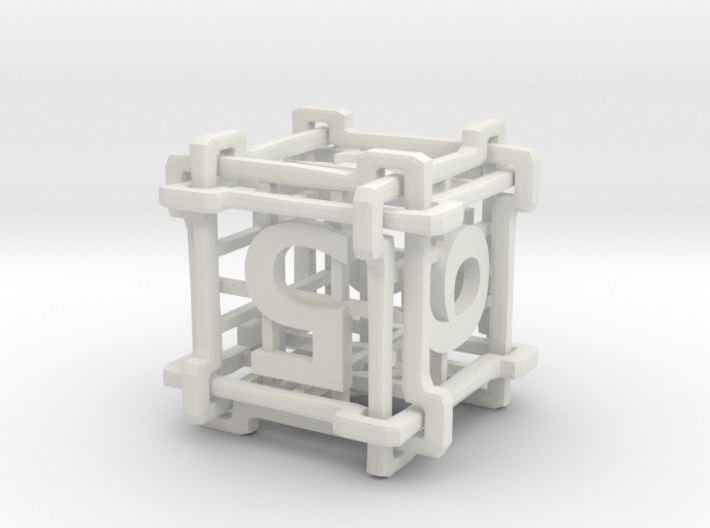 Interlocked Die 3d printed