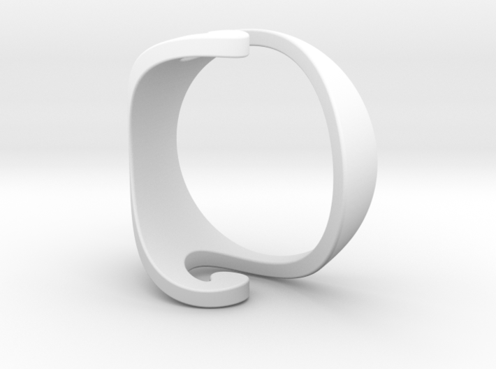 Wave Ring - Air (purchase with Wave Ring - Water) 3d printed