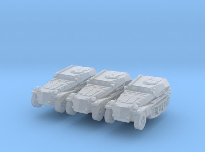 Sdkfz 253 (x3) 1/220 3d printed