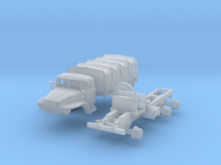 Ural-4320 (1/144) 3d printed