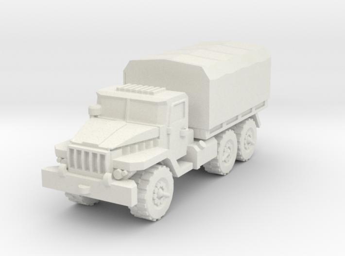 Ural-375 1/76 3d printed