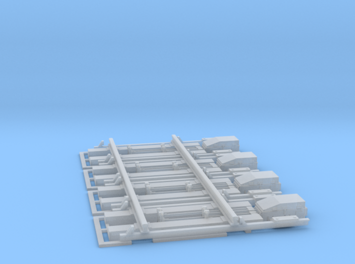 4 sporskiftedrev 3d printed