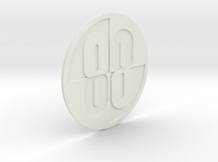 Buckaroo Banzai 88 Emblem 3d printed