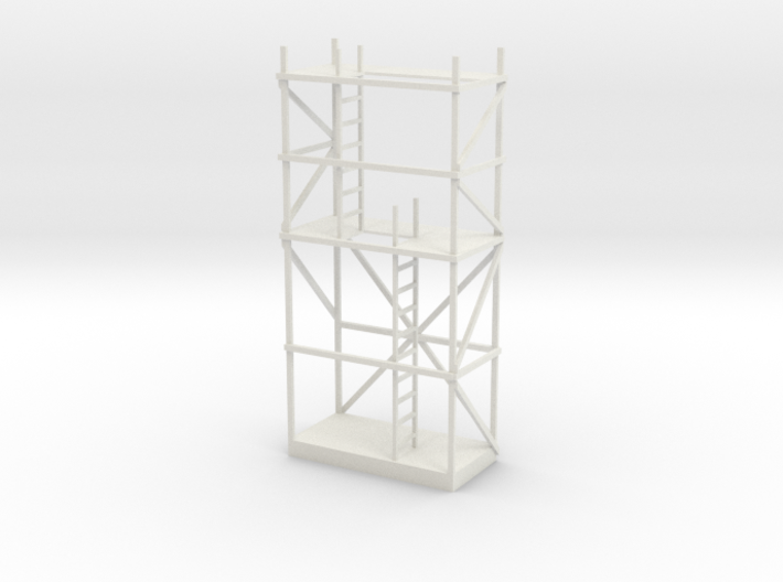 Miniature Antique Scaffolding 3d printed