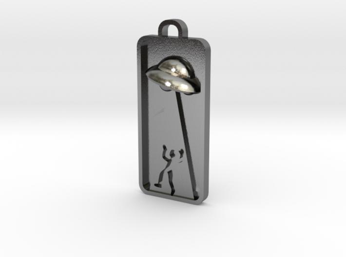 UFO Abduction Pnedant 3d printed