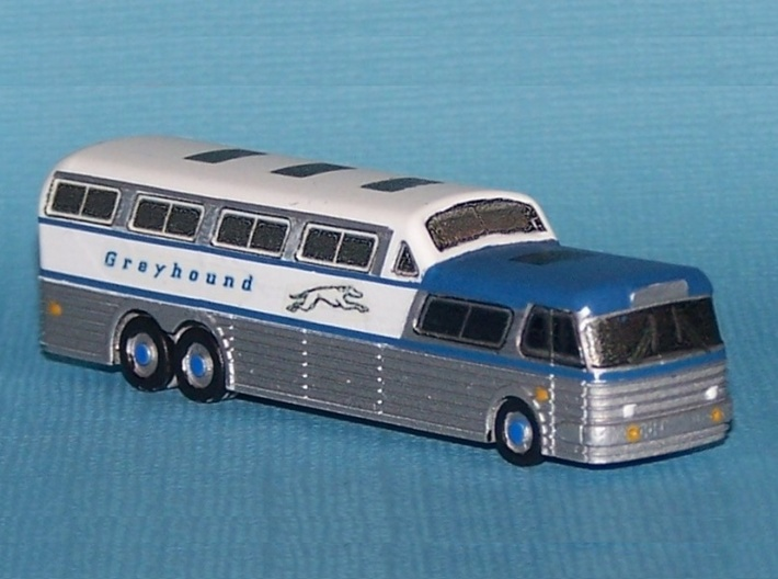 Scenicruiser Bus - Nscale 3d printed Painting and Photo by Bill Simmons