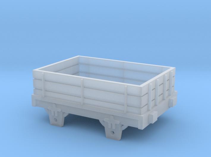 Broad Gauge Truck (N Scale) 3d printed