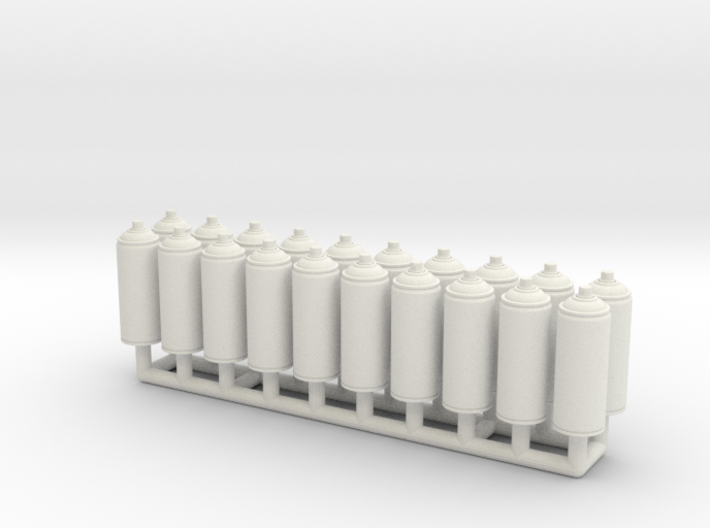 Spray Paint 400ml Ver01. 1:12 Scale. x20 Pack 3d printed