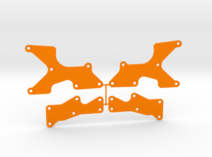 TLR 8X Arm Inserts 3d printed
