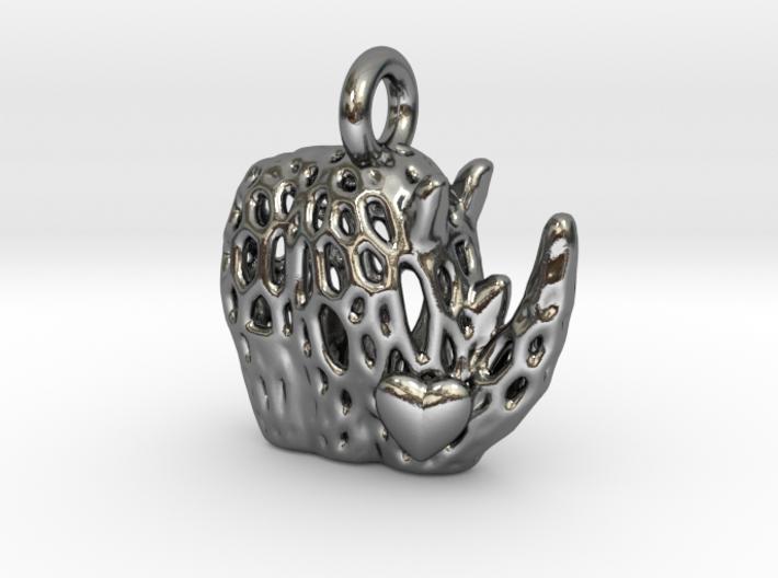 Love Rhino 3d printed
