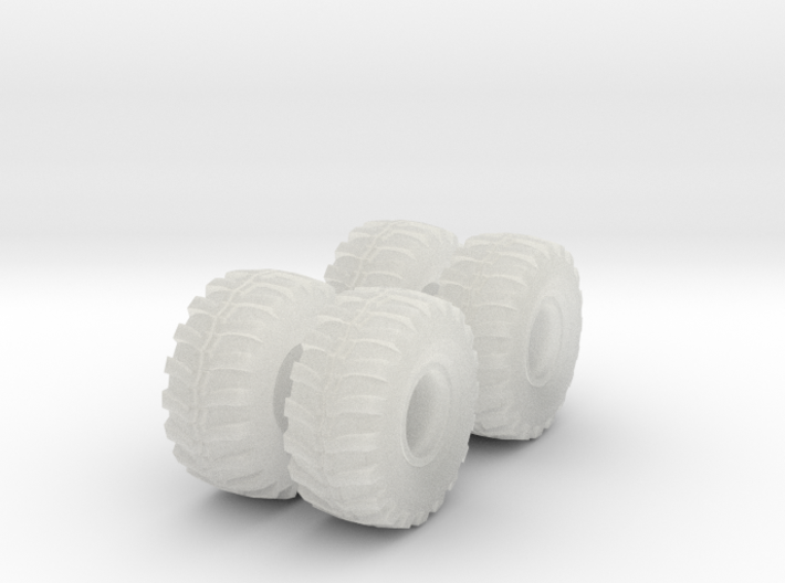 36in Ground Hawg Set 1-64 Scale 3d printed