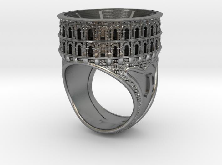 Bague Arènes de Nîmes JP - colosseum ring 3d printed