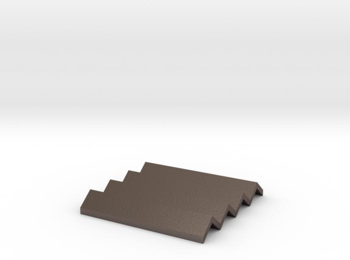 Concertina Coaster/heatproof Mat/soap dish 3d printed