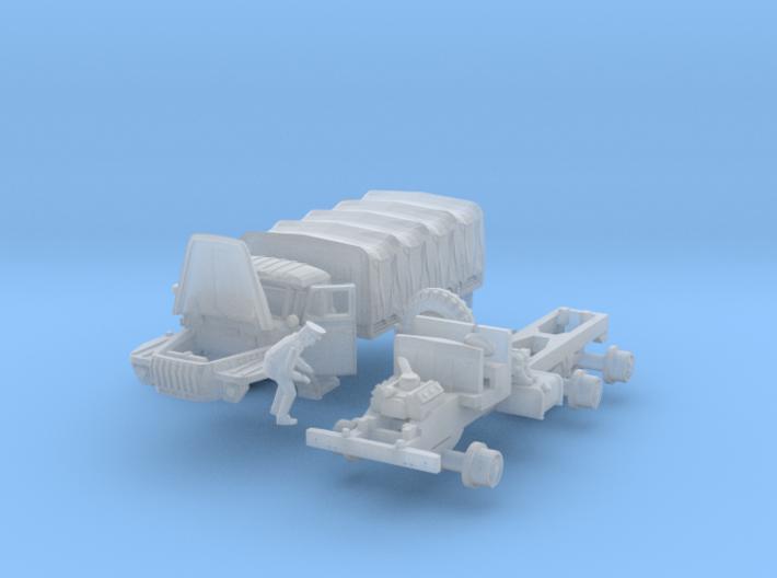Ural-4320 Wartung (N 1:160) 3d printed