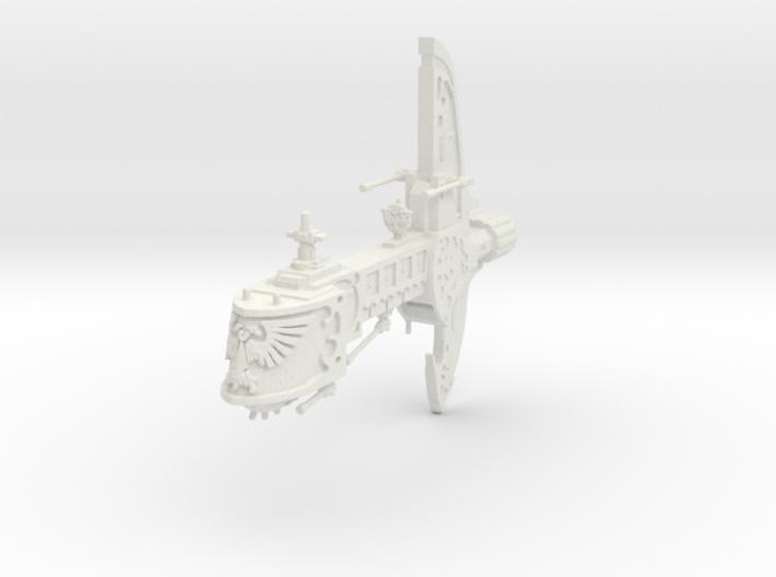 Crucero Ligero de renombre Barcaza de Orlatov 3d printed