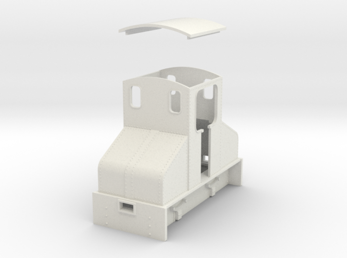 O9 Steeplecab loco 3d printed