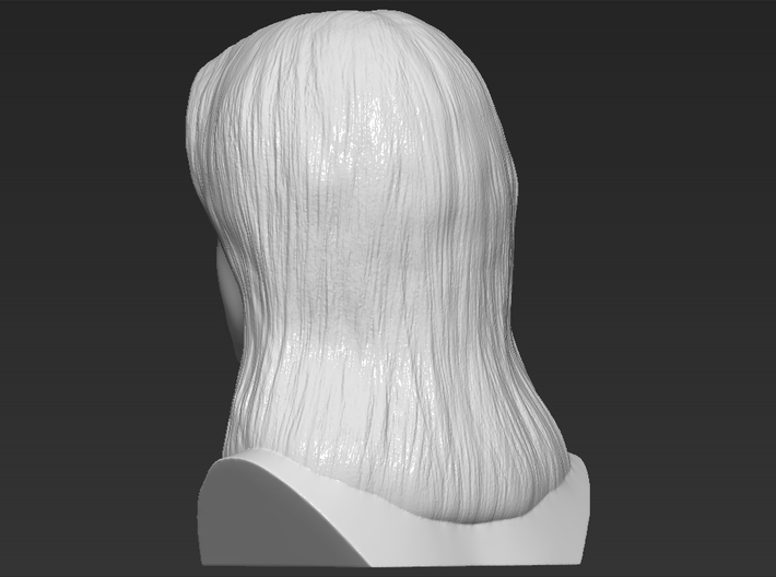 Britney Spears bust 3d printed