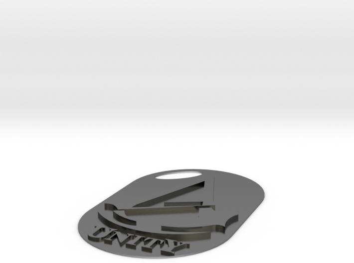 Assassins creed - Unity Logo/Keychain slim 3d printed