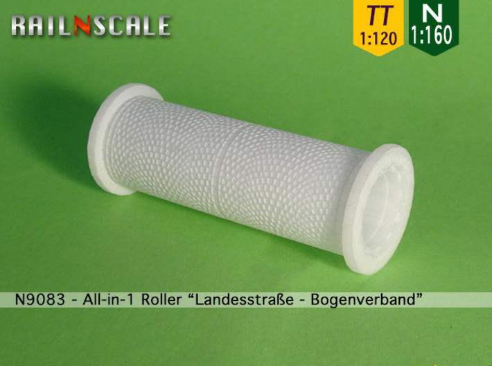 "All-in-1 Roller ""Landesstraße-Bogenverband"" (N-T) 3d printed"
