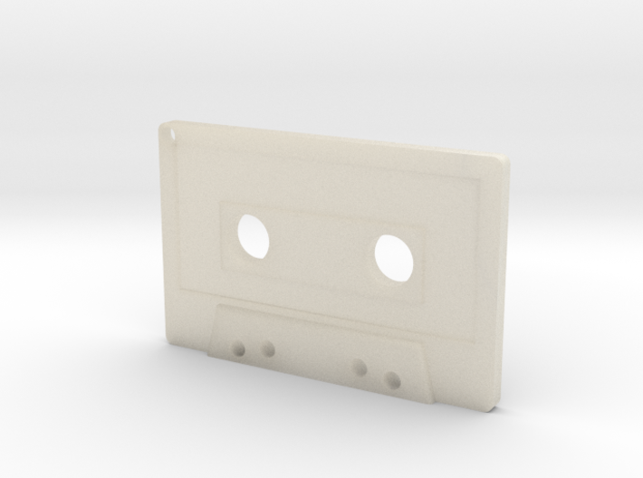 Cassette Keychain 3d printed