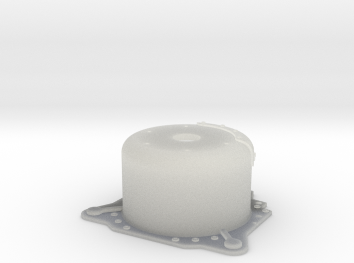 "1/25 Lenco 8.625 "" Dp Bellhousing (No Starter Mnt) 3d printed"