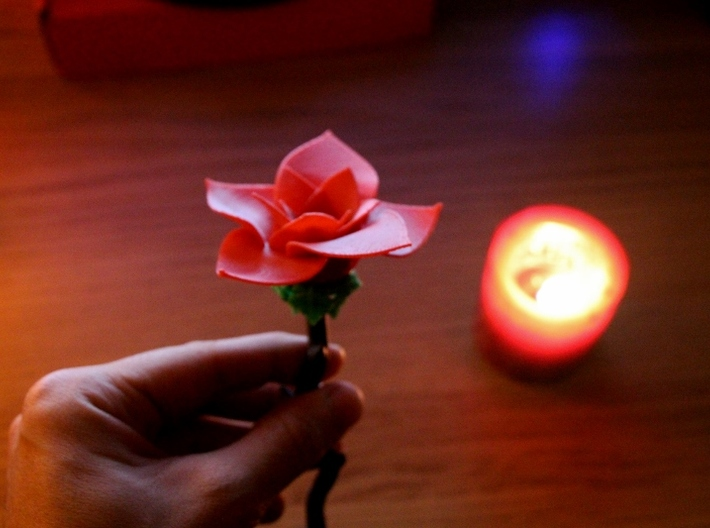 Beautiful Rose Light 3d printed
