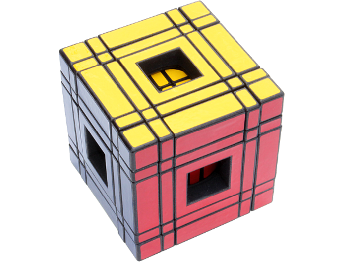 Window Real5x5x5 3d printed Solved
