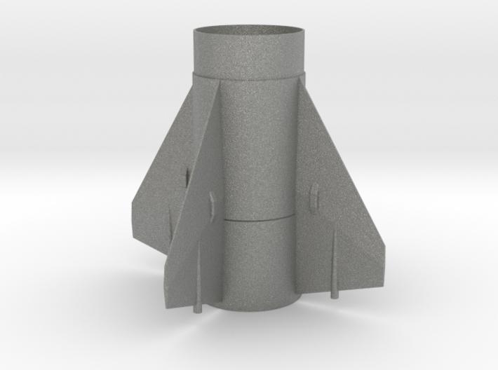 Little John BT 60 Fin Unit for 24mm motors 3d printed
