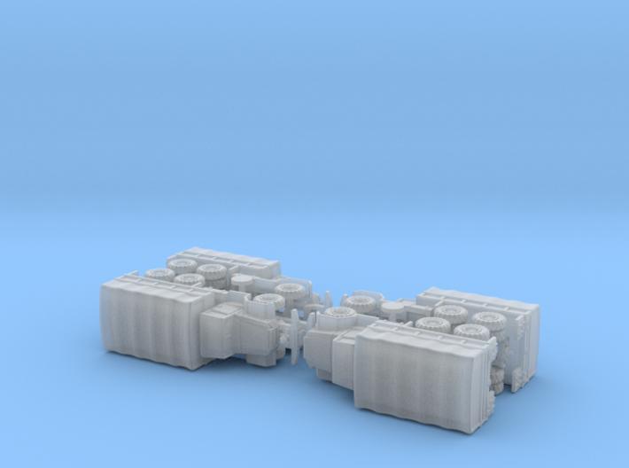 M125 & M125A1 Heavy Trucks 1/285 3d printed