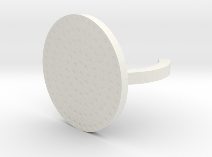 thimble ring for hand sewing 3d printed